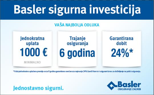 Basler sigurna investicija