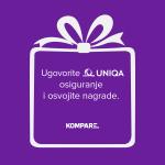 NAGRADNA IGRA: Ugovorite Uniqa osiguranje i osvojite nagrade