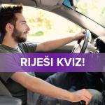 Riješi kviz, doznaj kako voziš i uzmi popust na auto osiguranje!
