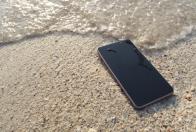 potopljeni mobitel