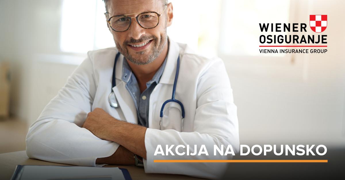 Wiener akcija dopusnko zdravstveno osiguranje