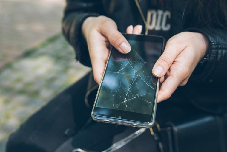 novi mobitel, razbijen mobitel