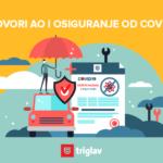 Uz auto osiguranje ili dopunsko zdravstveno u Triglavu stiže i COVID19 osiguranje!
